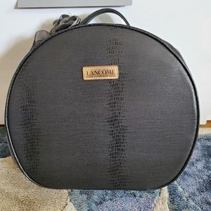 Lancome Leather MakeUp Bag NWOT